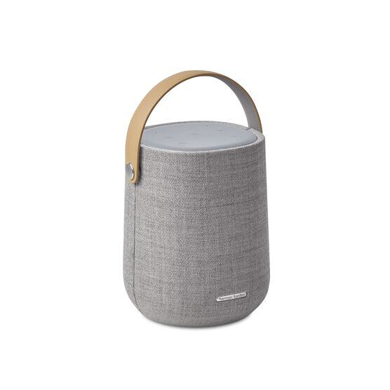 Harman Kardon Citation 200 - Grey - Portable smart speaker for HD sound - Hero