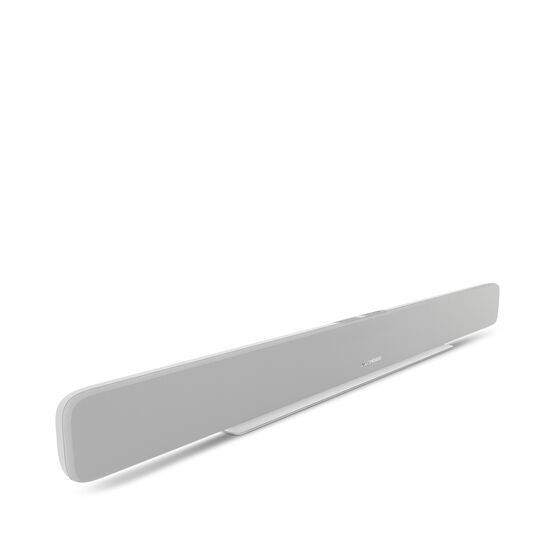 Omni Bar Plus - White - Wireless HD Soundbar - Detailshot 1