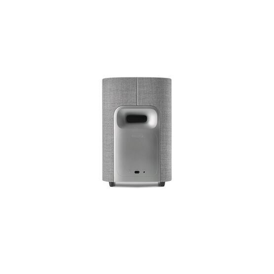 Harman Kardon Citation Sub S - Grey - Compact wireless subwoofer with deep bass - Back