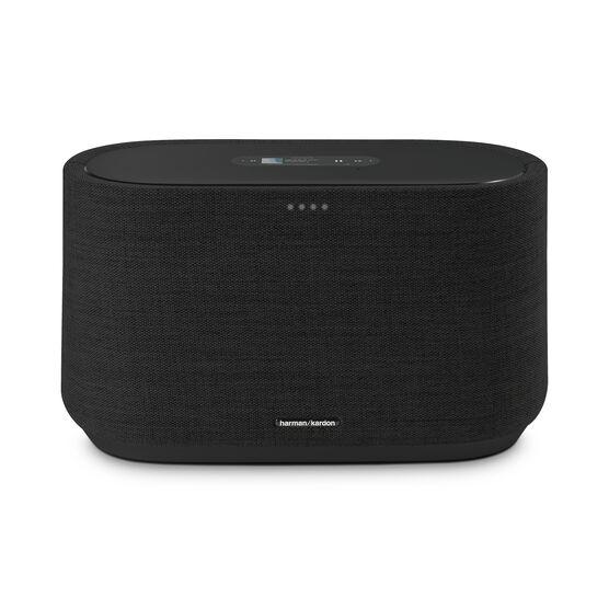Harman Kardon Citation 300 - Black - The medium-size smart home speaker with award winning design - Front