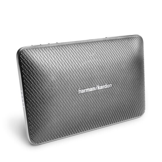 Esquire 2 - Grey - Premium portable Bluetooth speaker with quad microphone conferencing system - Hero