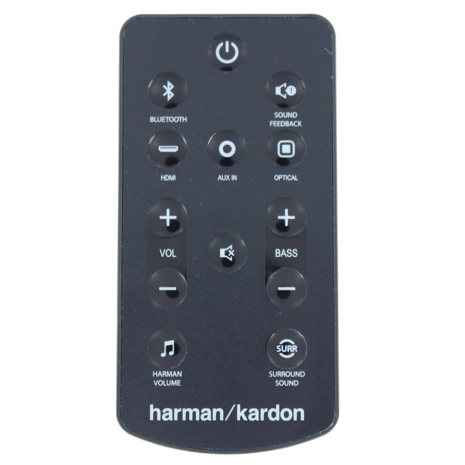 Harman Kardon Remote control for SB20 - Black - Remote control - Hero