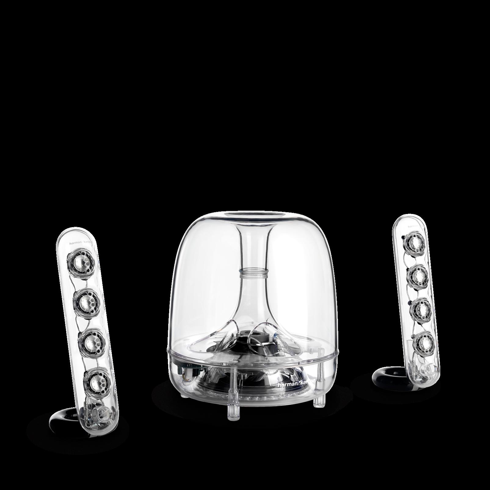 SoundSticks III - Clear - Three-piece, 2.1-channel multimedia sound system - Detailshot 4
