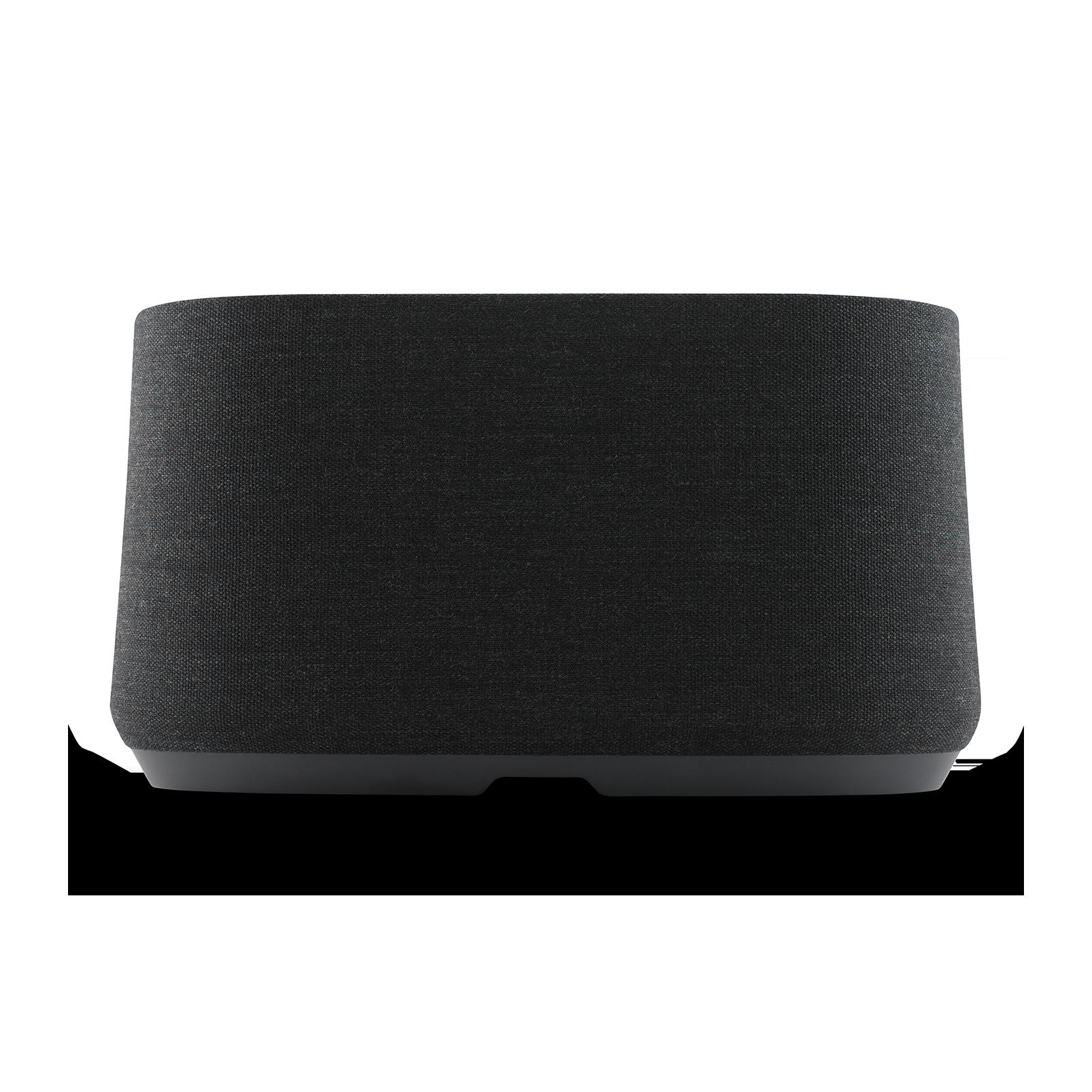 Harman Kardon Citation 500 - Black - Large Tabletop Smart Home Loudspeaker System - Back