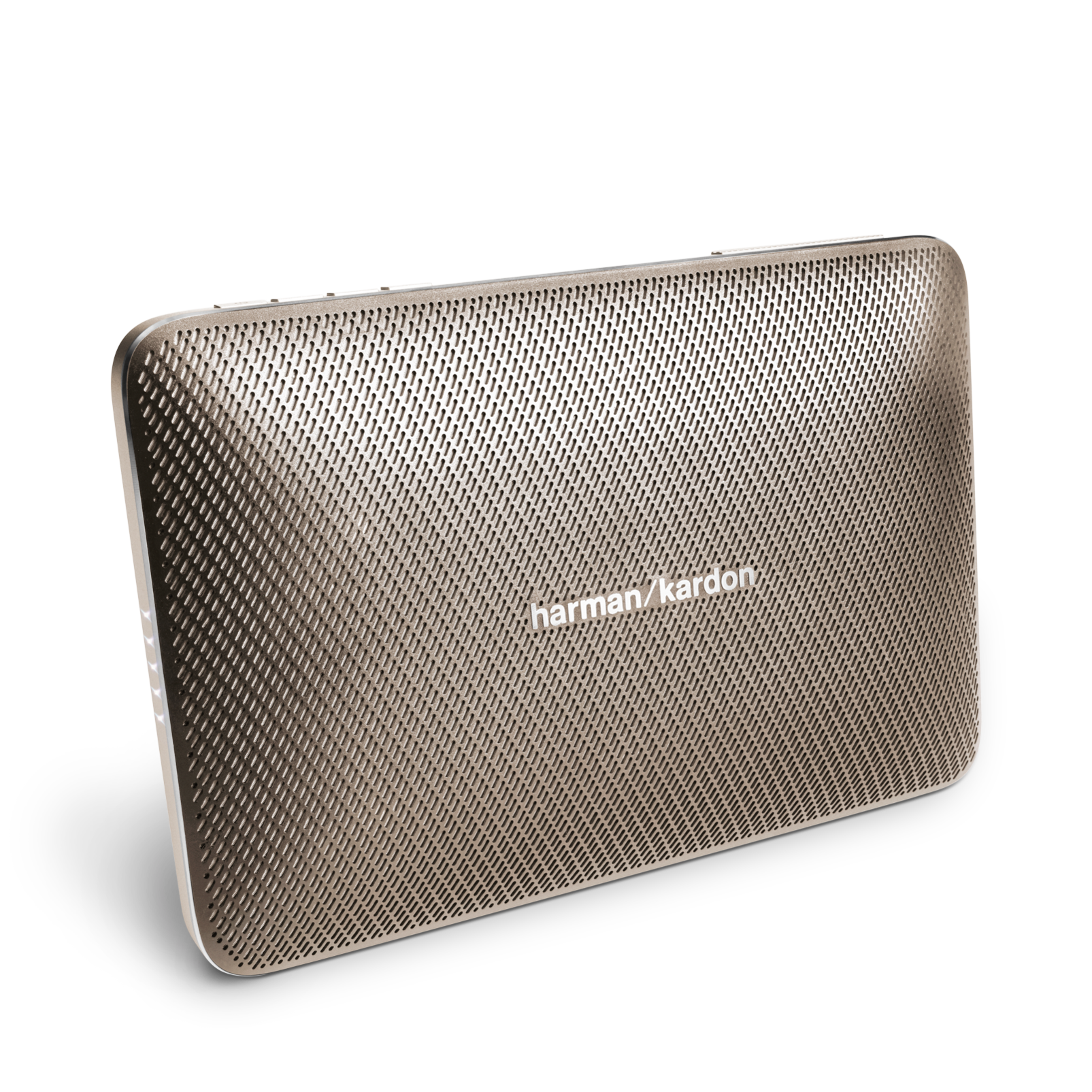 Esquire 2 - Gold - Premium portable Bluetooth speaker with quad microphone conferencing system - Hero