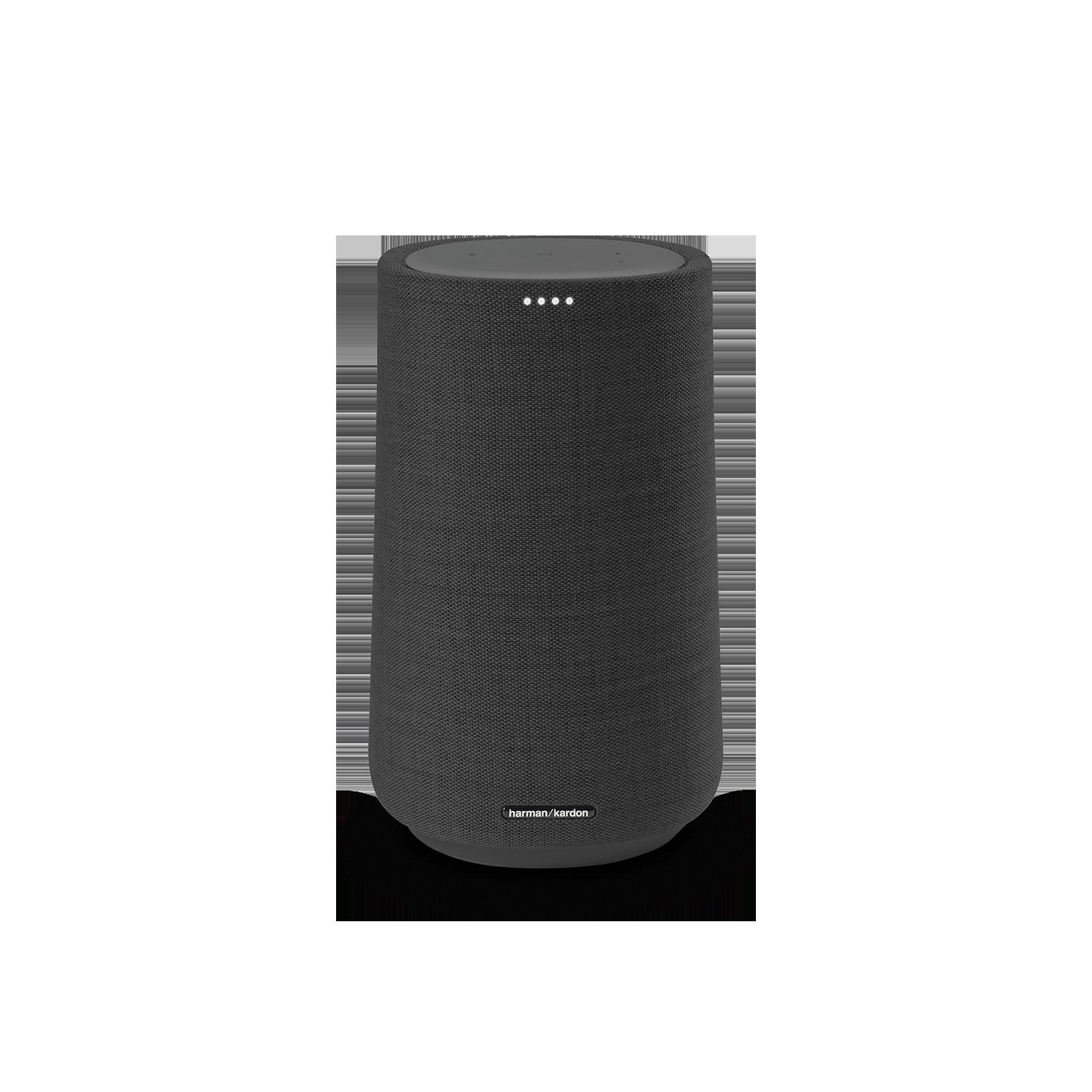 Harman Kardon Citation 100 - Black - The smallest, smartest home speaker with impactful sound - Front