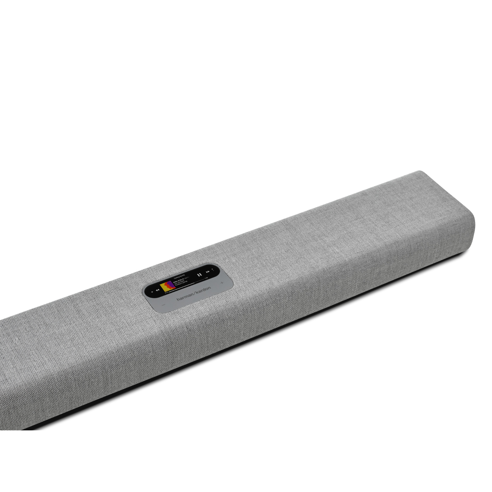 Harman Kardon Citation MultiBeam™ 700 - Grey - The smartest, compact soundbar with MultiBeam™ surround sound - Detailshot 1