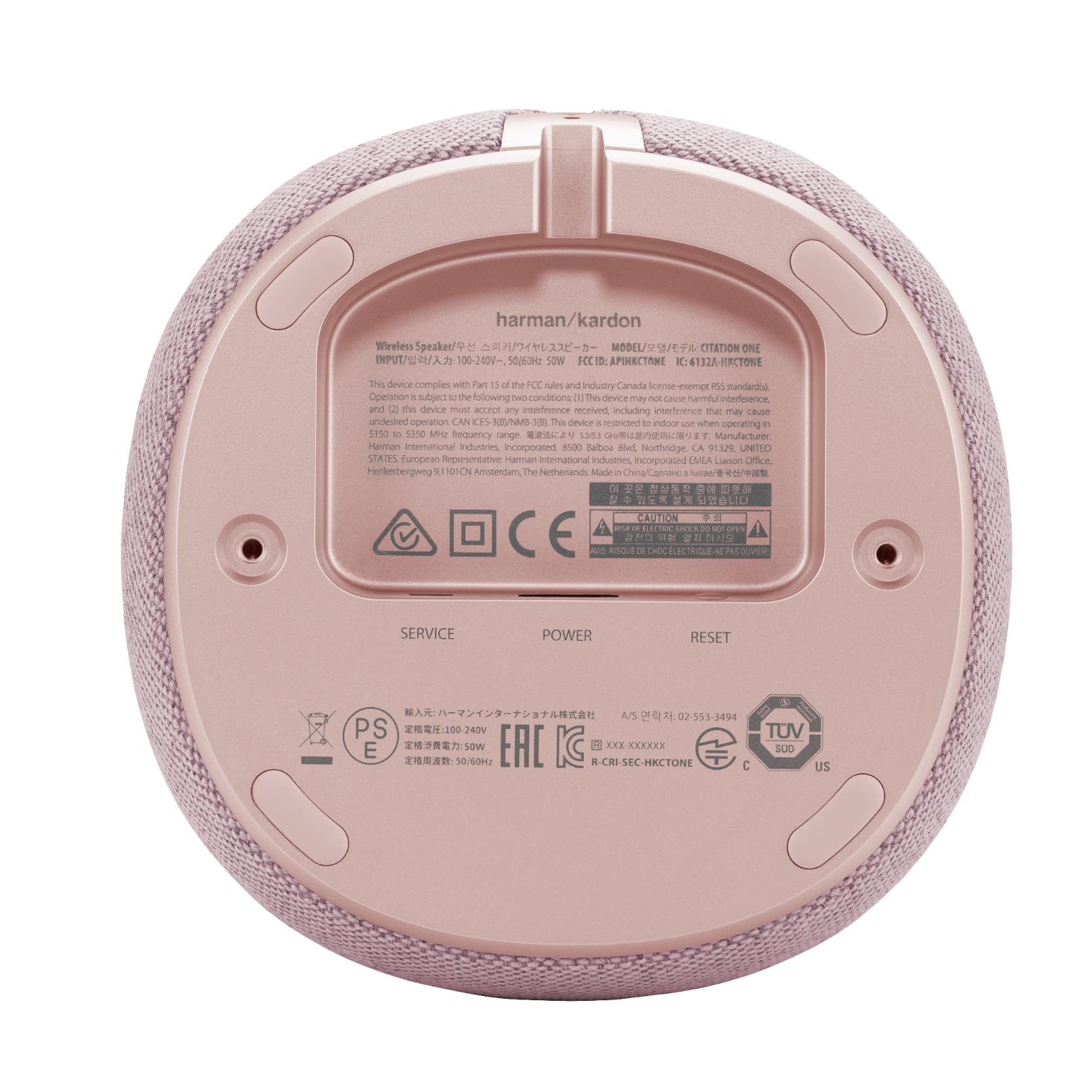 Harman Kardon Citation One MKII - Pink - All-in-one smart speaker with room-filling sound - Detailshot 1