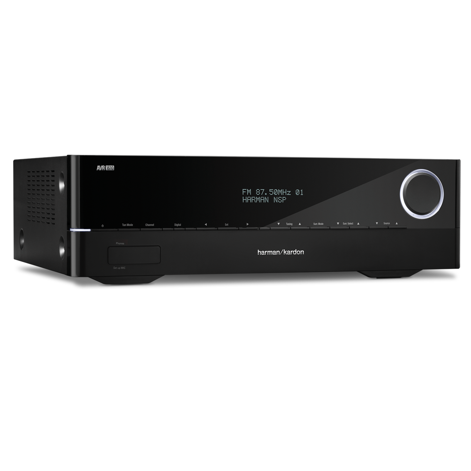 avr 1610 5 1 channel bluetooth av receiver with airplay. Black Bedroom Furniture Sets. Home Design Ideas